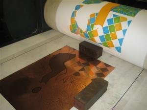 Andalucia Copper Plate