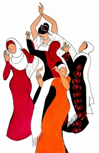 Palestinian Wedding Dance