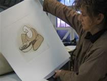 2005 artichoke print workshop05